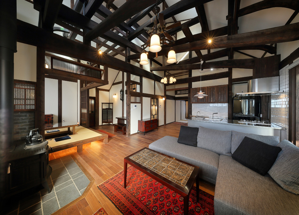 古民家移築再生の家