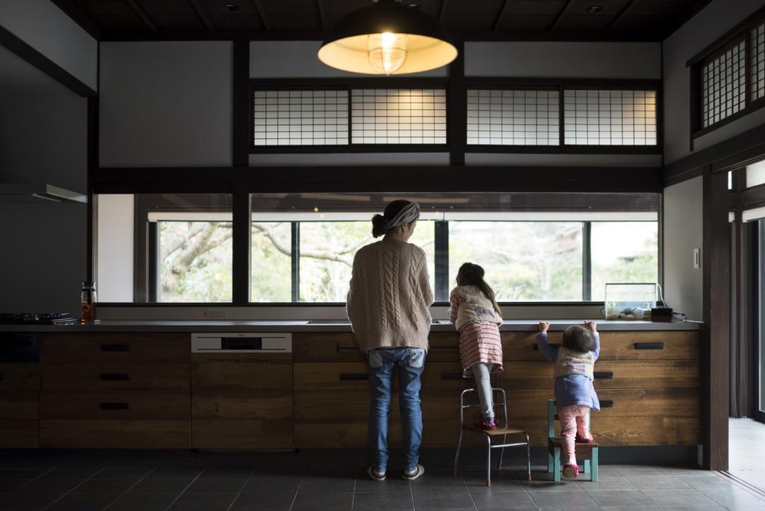 築100年、新しい家族を迎える家